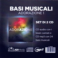 Adorazione 1 - CD AUDIO + Basi + Basi e coro (CD/MP3)